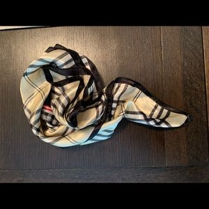 Satin neck scarf